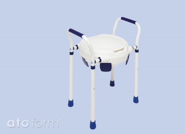 Clipper VII Toilettensitzerhöhung mit Deckel