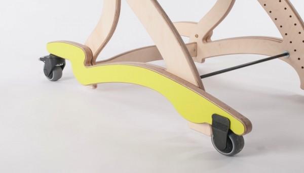Stabilisierungsschienen mobil für Therapiesitz Zoomi