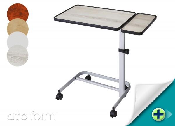 Bett-Tisch MK I mit Seitenplatte breit