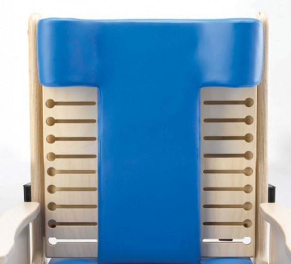 Modellierte T-förmige Rückenlehne für Brookfield