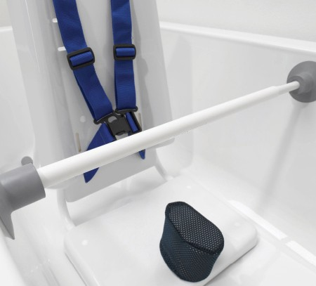 Teleskop-Handlauf für Badestuhl