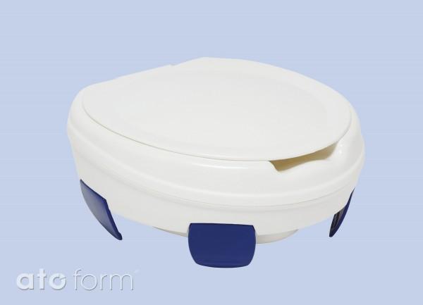 Clipper III Toilettensitzerhöhung mit Deckel
