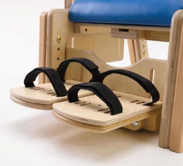 Hochklappbare Fußstützen für Therapiestuhl Brookfield
