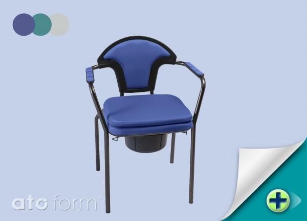 Open Toilettenstuhl Volle Sitzplatte