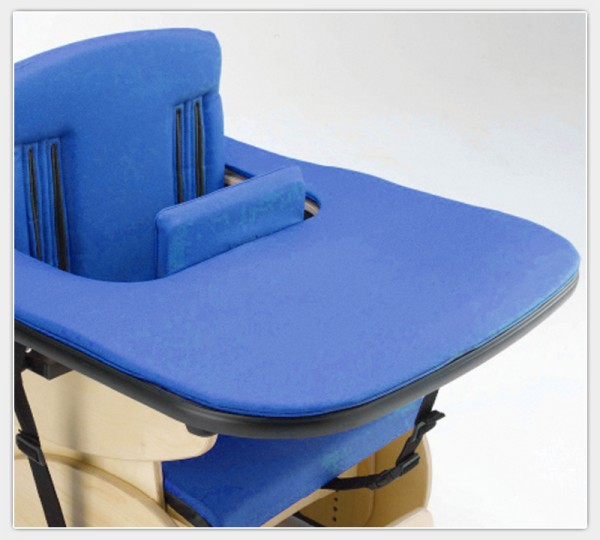 Gepolsterte Tischauflage für Therapiesitz Hardrock