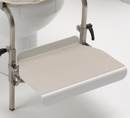 Edelstahl Fußstütze für Toilettensitz Chailey