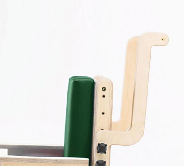 Höhenverstellbarer Schiebebügel für Combi Toilettenstuhl