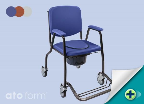 Confort Toilettenrollstuhl Volle Sitzplatte