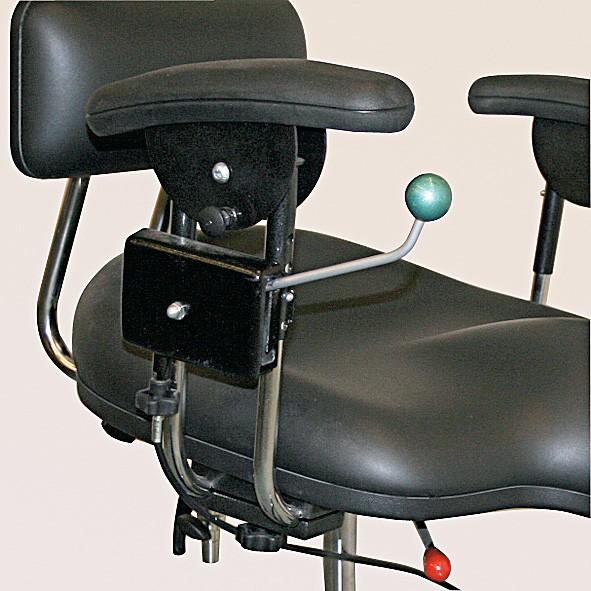 Einhandbremse (Zentralverriegelung) für Therapiestuhl Strato