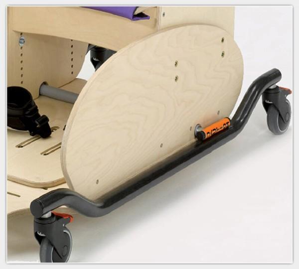 Verlängerter Seitenschutz für Therapiesitz Hardrock