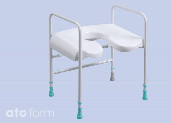 Toilettenstützgestell Prima mit Duschsitz inkl. Aussparung