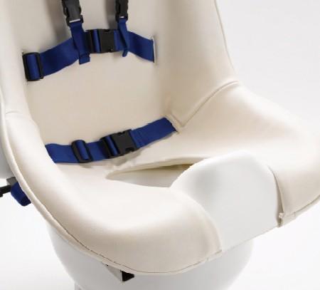 Gepolsterter Sitzbezug für Toilettensitz Chailey