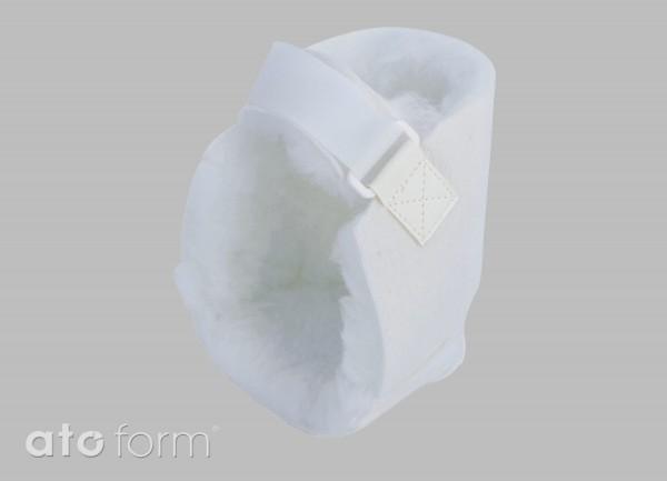 Fersenschutz aus Polyesterfasern