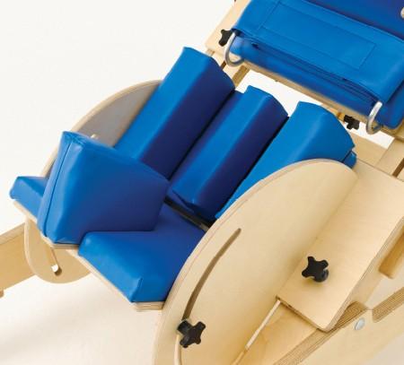 Kniebox für Bauchschrägliegebrett